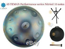 10 Notes Hand Drum Handmade Carbon Steel Tongue Drum With Storage Bag