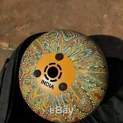 10'' Steel Tongue Drum Handpan 9 or 8 note
