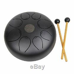 10 inch Steel Tongue Drum Percussion Instrument Theropy Healing Drum with Bag