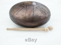 12 10 notes Lotus Steel Tongue drum (Handpan, Hand drum, Tankdrum)