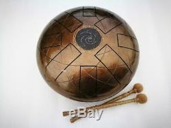 12 8 notes Galaxy Steel Tongue drum (Handpan, Hand drum, Tankdrum)