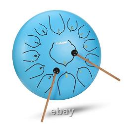 12 Inch 13 Note Steel Tongue Drum Percussion Instrument Lotus Hand Pan Drum with