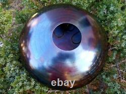 12 Moon 10 notes steel tongue drum Tankdrum handpan