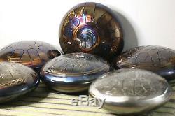 12 Steel Tongue Drum LABYRINTH 10 notes (tank drum, handpan, hank drum)