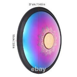 14.6×3.9in Hand Pan Handpan Hand Drum Tongue Drum A/C/D/E/F/G/A/C/D Scale + Bag