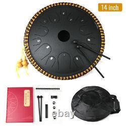 14 Inch 14 Notes Steel Tongue Drum Handpan Hand Drums Tankdrum With Bag UK