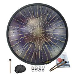 14 Inches 14 Notes Tongue Tank Drum C Minor For Music Education Handpan Drum Bag