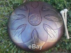 15 9 notes Alatyr steel tongue drum, Tankdrum, handpan