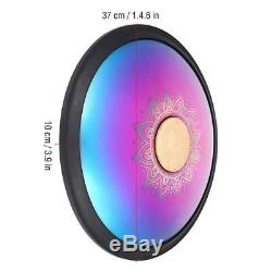 15'' Durable Carbon Steel Tongue Drum Hand Tank Drum UU Handpan With Bag A3-D6