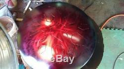 16 LotusDrum HANDCRAFTED in Austin, TX! Steel tongue drum Handpan Hank Tank
