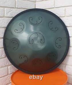 20 inch / Steel Tongue Drum Handpan / 9 Notes / Celtic B minor / ArtQuint drum