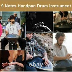 9 Note Handpan Drum Kit Hand Pan Steel Tongue Drum High Grade Musical Instrument