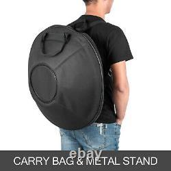 9 Notes Percussion Hand Pan Handpan Tongue Steel Hand Drum Bag Carbon Steel Yoga
