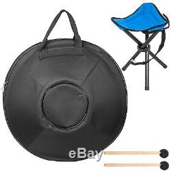 9 Notes Percussion Hand Pan Handpan Tongue Steel Hand Drum Bag Carbon Steel Yoga