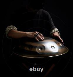 9 Notes Percussion Hand Pan Handpan Tongue Steel Hand Drum Carbon Steel Yoga UK