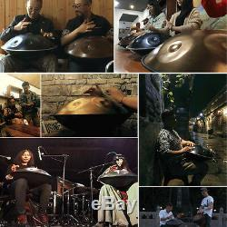 9 Notes Tongue Percussion Hand Pan Handpan Hand Drum Carbon Steel Music Yoga Set