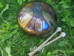9 Steel Tongue Drum Galaxy (Tankdrum, handpan, pan drum, hank drum)