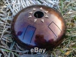 9 Steel Tongue Drum Gothic (Tankdrum, handpan, pan drum, hank drum) Hijazz