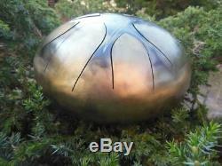 9 Steel Tongue Drum Viking (Tankdrum, handpan, pan drum, hank drum)