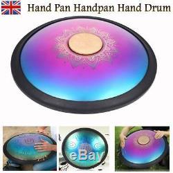 A3-D6 15''Durable Carbon Steel Tongue Drum Hand Tank Drum UU Handpan Storage Bag