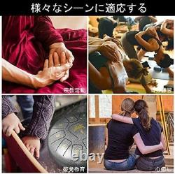 AKLOT Slit Drum C Major Tongue Drum Steel Meditation / Yoga / Healing / Prayer