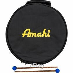 Amahi Steel Tongue Drum 12 Black
