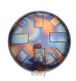 D Celtic Minor, Hand Made, 12, Steel Tongue Drum, Tank Drum. Free Beaters
