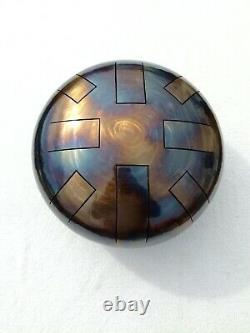 D Celtic minor, 432hz, Steel Tongue Drum, UK Made, 12, Hand Made, READY NOW