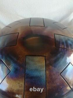 D Celtic minor Steel Tongue Drum, UK Made, 12, 440hz, Hand Made, READY NOW