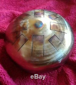 E Celtic Minor, Hand Made, 12, Steel Tongue Drum, Tank Drum, Free Beaters