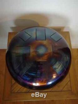 E Celtic Minor, Hand Made, 12, Steel Tongue Drum, Tank Drum, Free Beaters Inc