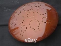 Earth Stainless Steel VibeDrum 9 Notes S Steel Tongue drum / Handpan