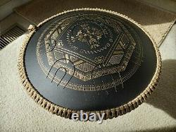 GUDA Ortus Brass handpan hand pan steel tongue drum D Kurd scale. Item in US