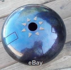 Handmade Steel Tongue Drum, 30cm, 12in, Tankdrum, Hank Drum
