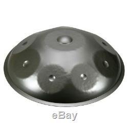 Handmade steel handpan drum metal tongue 9 note custom made + metal case + bag