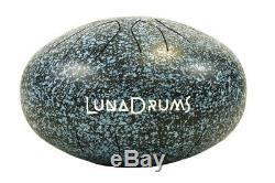 Handpan LunaDrum 13 AKEBONO best choice, hank, tank, steel tongue drum art