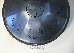 Handpan Rav Vast 2 with case (Tongue Steel Drum) B Celtic Minor
