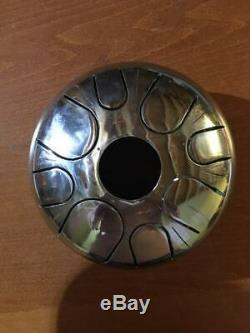 Handpan Steel Tongue Drum 8 tone 8 21cm handmade