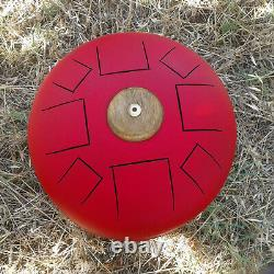Hank Drum 432hz handpan tank disco armonico space steel tongue drum