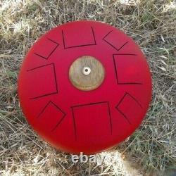 Hank Drum sbombarduolatore handpan hand drum steel tongue space drum