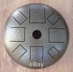 Hapi Drum Bell D moll Klangschale Handpan tankdrum Steel Tongue Drum Zubehör