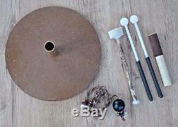 Hapi Drum Bell Klangschale Handpan tankdrum Steel Tongue Drum inkl. Zubehör