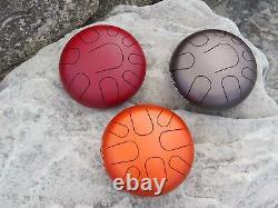 High Quality Handmade Steel Tongue Handpan Tank Drum sound healing, meditation