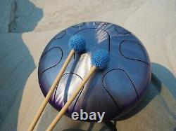 High Quality Steel Tongue Handpan, Tank Drum / Hand Drum-sound healing, meditatio