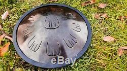 IDOL drum Breeze Celtic minor scale. Tank drum. Handpan. Steel drum. Tongue drum