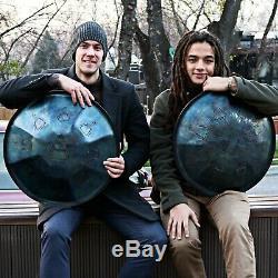 IDOL drum v2. TANK DRUM, handpan (steel drum). New generation steel tongue drum