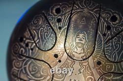 KSY. 22. C. E10 Steel tongue drum 22cm Kosmosky