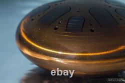 KSY. 3. C-2x Steel tongue drum diam. 35 cm (11.8)