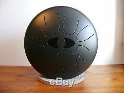 Klangauge tuneable 50 tunings steel tongue drum, hank steel pan, handdrum