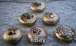 LION Handpan Steel Tongue Drum for Meditation 12 Hand Pan Tank Hank Mallets inc